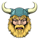 Viking Warrior mascot Stock Image