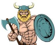 Viking Warrior mascot Stock Photography
