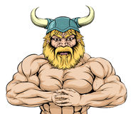 Viking Warrior mascot Royalty Free Stock Photos