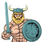 Viking Warrior mascot Stock Images