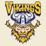 Viking Warrior-Maskottchen Stockfotos