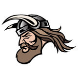 Viking warrior in vector format Stock Photos