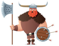 Viking on White Royalty Free Stock Image