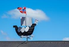 Viking Wind Ship Royalty Free Stock Photo