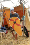 Viking at Winter Carnival Stock Images