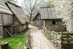 Viking wioska Fotografia Royalty Free