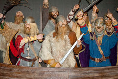 Viking wojownicy Fotografia Stock