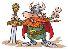 Viking wojownik Obrazy Royalty Free