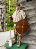 Viking wojownik Fotografia Royalty Free