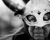 Viking Woman Stock Photo