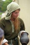 Viking woman Royalty Free Stock Photo