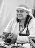 Viking woman Royalty Free Stock Photography