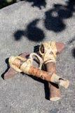 Viking yxor av stenen Royaltyfri Bild