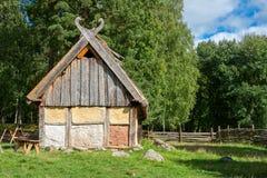 Vikingby sweden arkivfoto