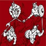 Vikingen. Royalty-vrije Stock Afbeeldingen