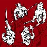 Vikingen. Stock Fotografie