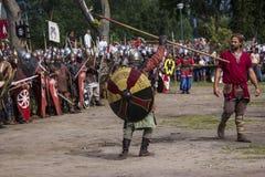 Vikingen Festiwal Stock Foto's