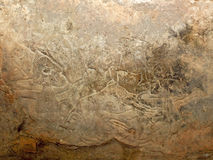 Vikingo talló la piedra Fotos de archivo