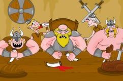Vikingos Imagen de archivo