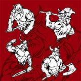 Vikingos. Fotos de archivo libres de regalías