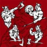 Vikingos. Fotografía de archivo