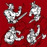 Vikingos. Fotografía de archivo libre de regalías