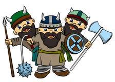 Vikingos Fotografía de archivo