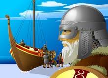 Vikingos Foto de archivo libre de regalías