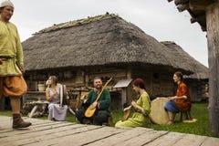Vikingos Festiwal imagen de archivo libre de regalías