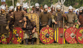 Vikingos Festiwal Imagenes de archivo