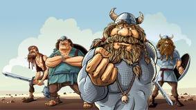 vikings Images libres de droits