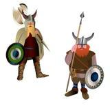 Vikings. Photographie stock