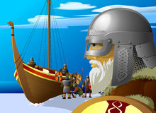 Vikings Photo libre de droits