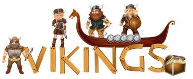 vikings royalty illustrazione gratis