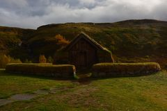 Viking House royalty free stock photography