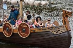 Vikings Drakar Royalty Free Stock Photography