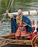 Vikings Drakar Royalty Free Stock Photography