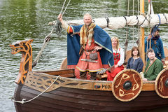 Vikings Drakar Royalty Free Stock Image