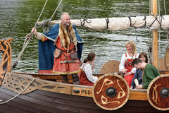 Vikings Drakar Stock Photos