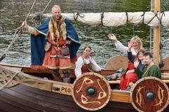 Vikings Drakar Royalty Free Stock Photos