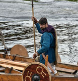 Vikings Drakar Stock Photography