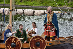 Vikings Drakar Stock Photos