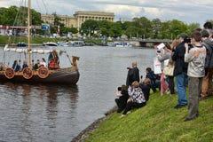 Vikings Drakar Royalty Free Stock Photo