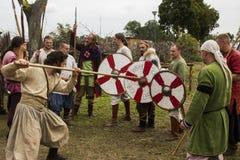 Vikings Festiwal Royaltyfria Bilder