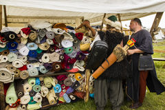 Vikings Festiwal. In Wolin, Poland 3 August - 5 August 2012 Royalty Free Stock Photos