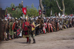 Vikings Festiwal. In Wolin, Poland 3 August - 5 August 2012 Royalty Free Stock Image