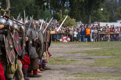 Vikings Festiwal. In Wolin, Poland 3 August - 5 August 2012 Stock Photos