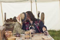 Vikings Festiwal Royaltyfri Foto