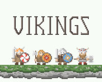 Vikings Royalty Free Stock Image