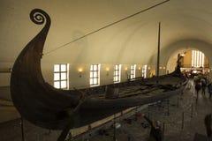 Vikings ships royalty free stock photo